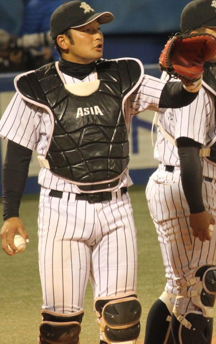Hiroki Minei File20131117 Hiroki Minei catcher of the Asia University Baseball