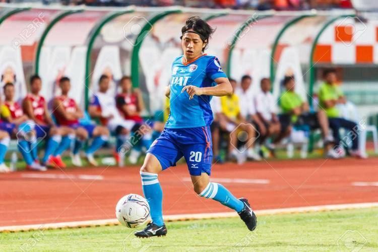 Hironori Saruta SISAKET THAILANDJUNE 21 Hironori Saruta Of Singhtarua FC