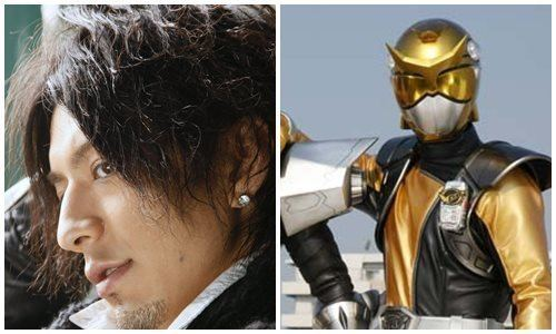 Hiroya Matsumoto GoBusters MagiYellow is now BeetBuster JEFusion