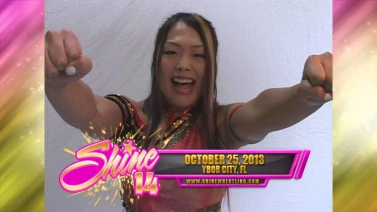 Hiroyo Matsumoto Hiroyo Matsumoto Challenges SHINE Champion Rain at SHINE