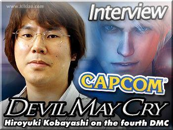 Hiroyuki Kobayashi (producer) Video Games Daily Devil May Cry 4 Hiroyuki Kobayashi