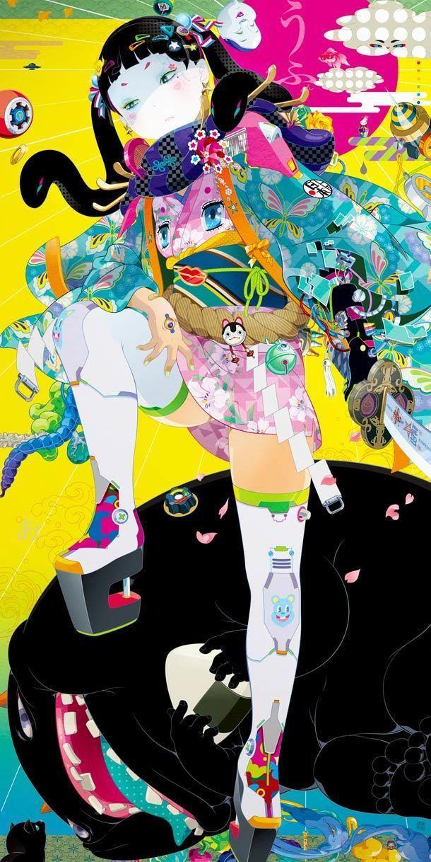 Hiroyuki Takahashi (game producer) 20 psychedelic illustrations by Hiroyuki Takahashi Ufunknet