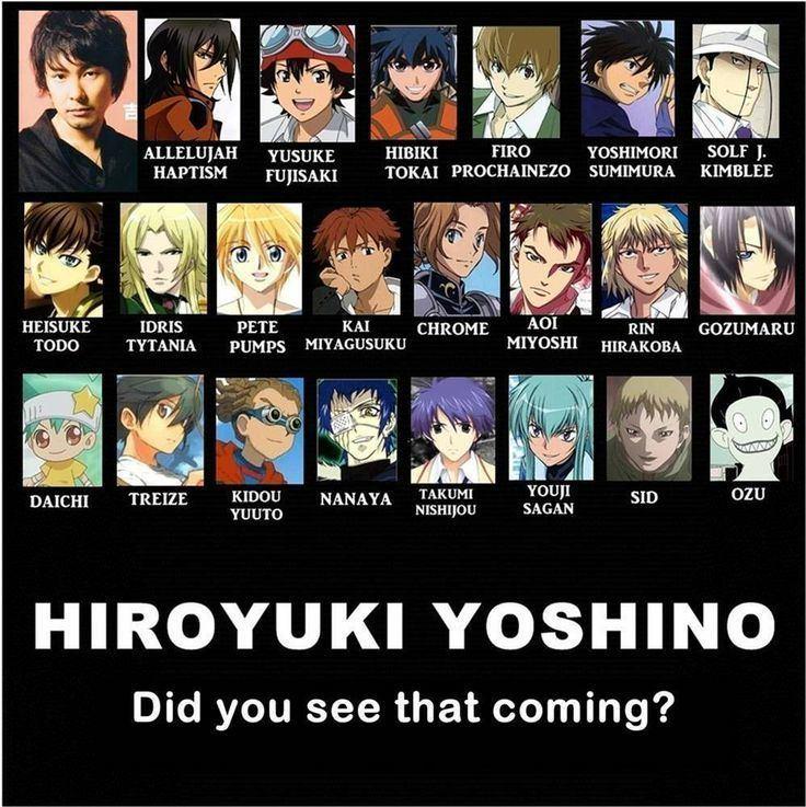 Hiroyuki Yoshino (voice actor) seiyuu on Pinterest Actors Kuroko and One Piece
