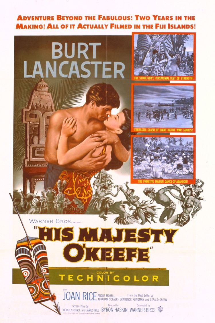 His Majesty O'Keefe wwwgstaticcomtvthumbmovieposters365p365pv