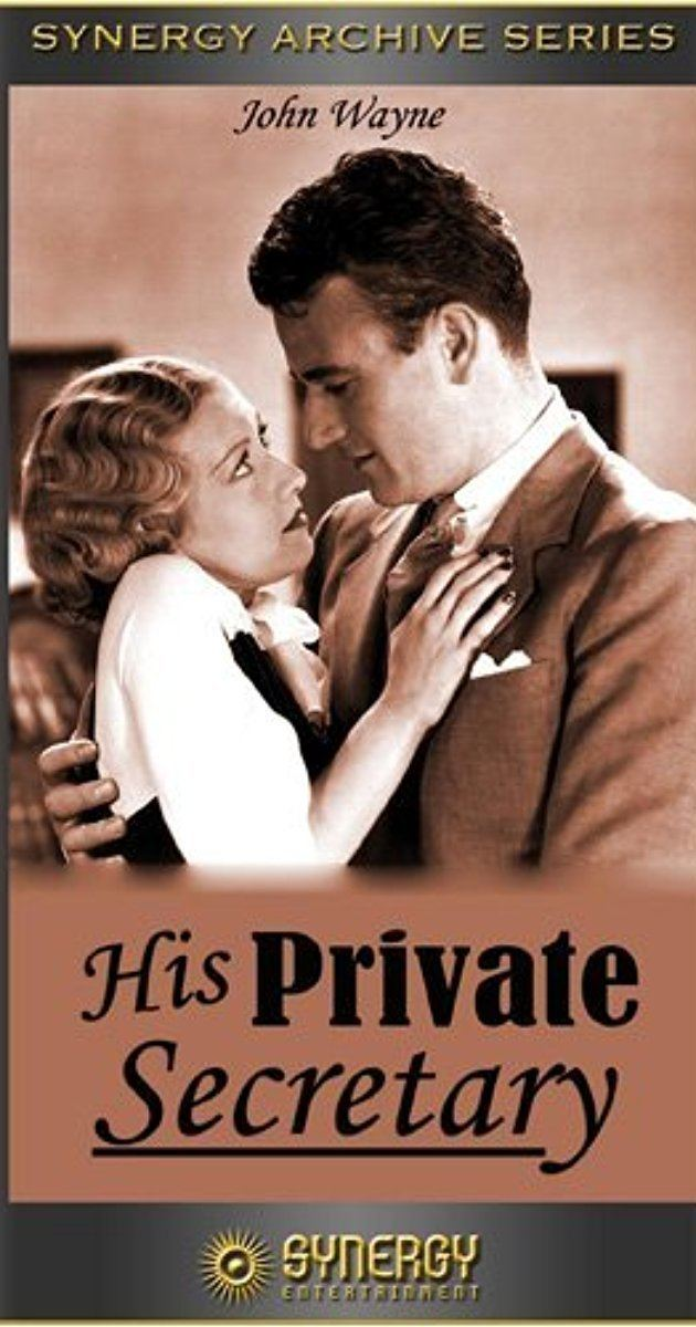 His Private Secretary His Private Secretary 1933 IMDb