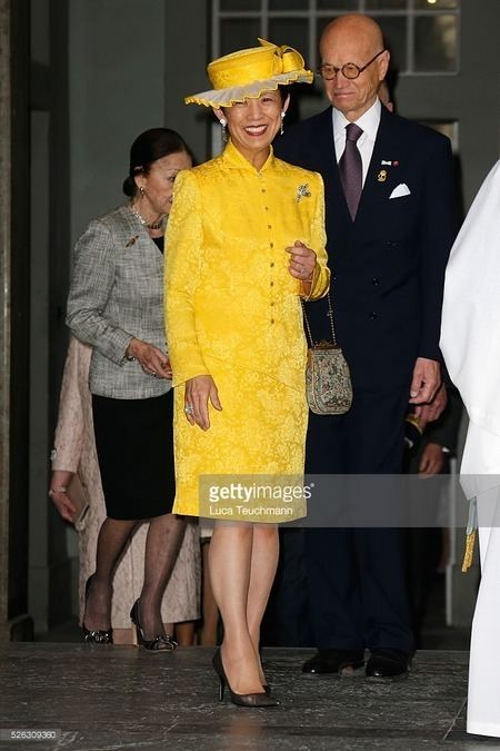 Hisako, Princess Takamado Sweden Visit of Princess Takamado IMPERIAL FAMILY OF JAPAN