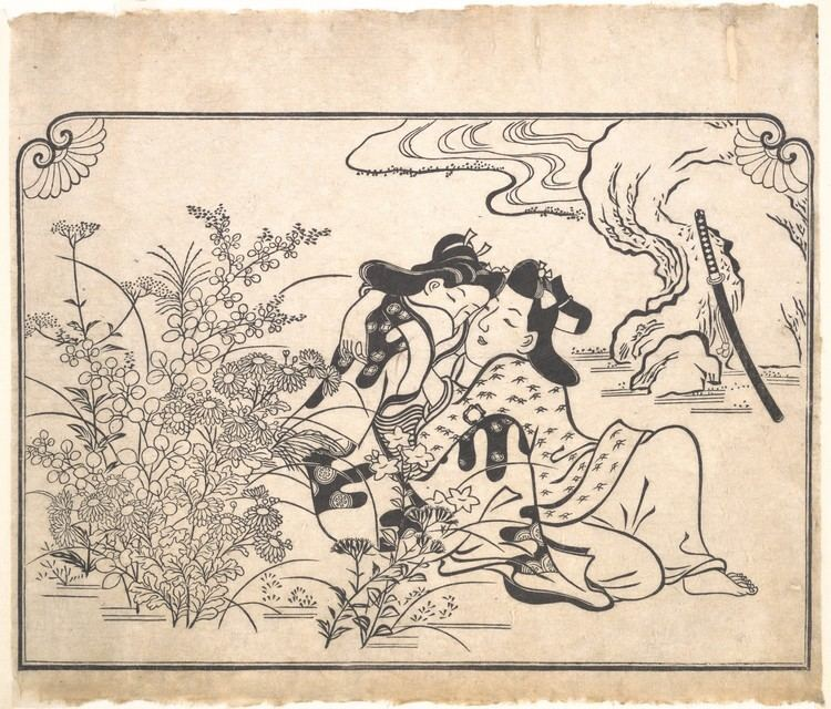 Hishikawa Moronobu imagesmetmuseumorgCRDImagesasoriginalDP12458