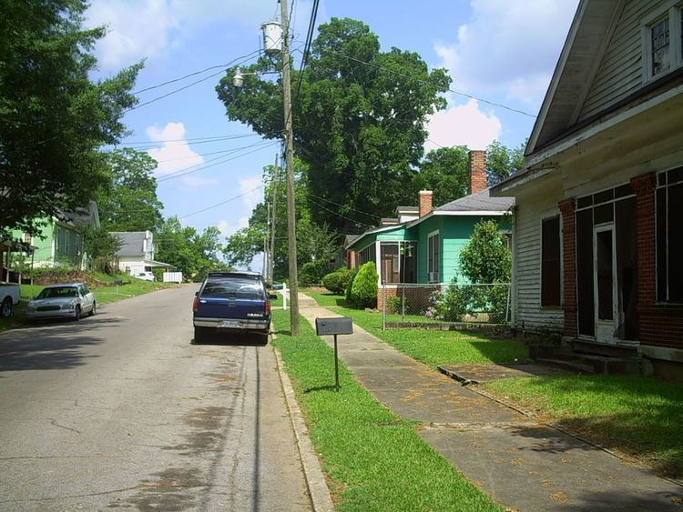 Historic districts in Meridian, Mississippi
