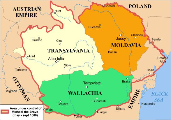 Historical regions of Romania