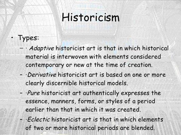 Historicism (art) httpsimageslidesharecdncomhistoricisminarc