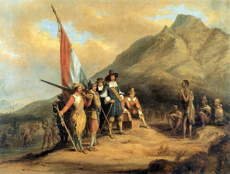 History of South Africa (1652–1815)