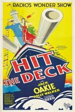 Hit the Deck (1930 film) movie poster
