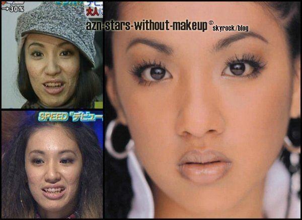 Hitoe Arakaki Hitoe Arakaki HITOE AZN STARS WITHOUT MAKEUP all