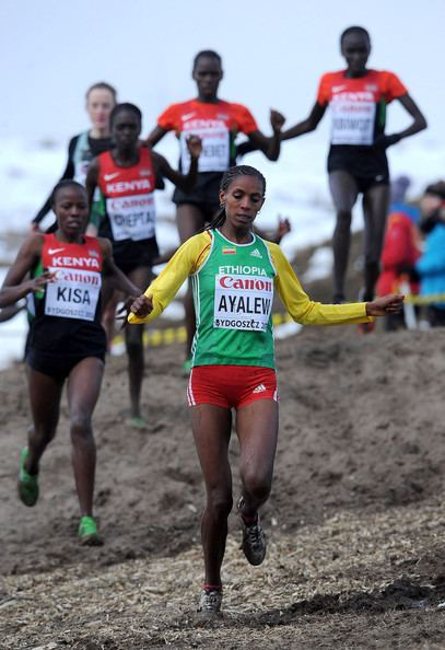 Hiwot Ayalew Hiwot Ayalew Pictures 40th IAAF World Cross County