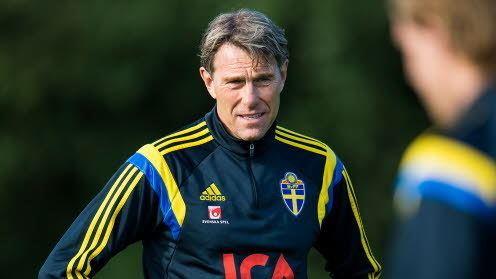 Håkan Ericson Ericson quotFortfarande stora mjligheterquot svenskfotbollse