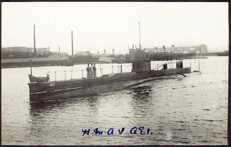 HMAS AE1 The AE1 the Royal Australian Navy39s first submarine Military