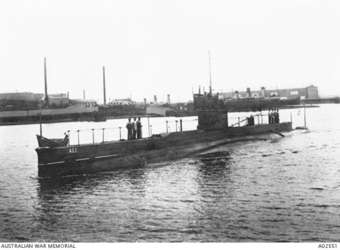 HMAS AE1 RSL Virtual War Memorial HMAS AE1 Submarine