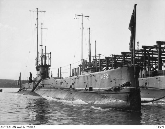 HMAS AE1 The AE1 and the AE2 Submarines Australia39s first submarines