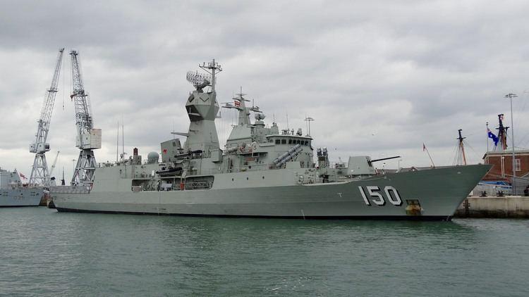 HMAS Anzac (FFH 150) HMAS Anzac FFH 150 Australian ANZAC Class Frigate alongs Flickr