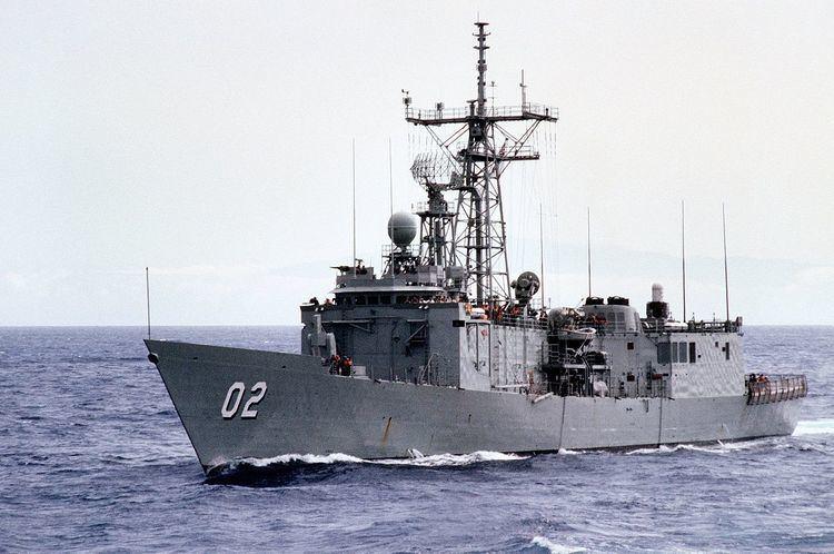 HMAS Canberra (FFG 02) HMAS Canberra FFG 02 Wikipedia