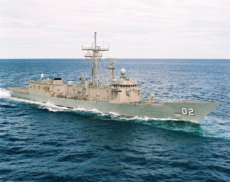 HMAS Canberra (FFG 02) HMAS Canberra II Royal Australian Navy