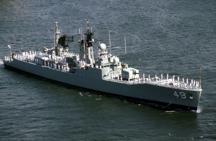HMAS Derwent (DE 49) Derwent World Warships