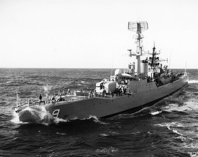HMAS Derwent (DE 49) HMAS Derwent Royal Australian Navy