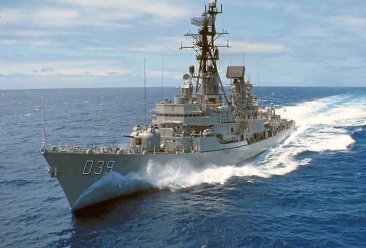 HMAS Hobart (D 39) HMAS Hobart II Royal Australian Navy
