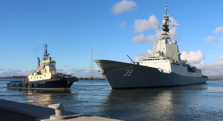 HMAS Hobart (DDGH 39) HMAS Hobart DDGH39 Modern weapons