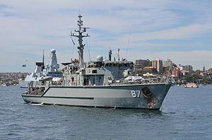 HMAS Yarra (M 87) httpsuploadwikimediaorgwikipediacommonsthu