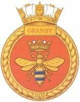 HMCS Granby (J264) wwwforposterityssakecaJPGsRCNBADGESBADGEGRA