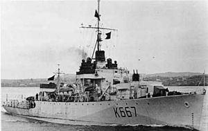 HMCS Inch Arran (K667) httpsuploadwikimediaorgwikipediacommonsthu