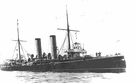 HMCS Rainbow (1891) HMCS RAINBOW CFB Esquimalt Naval amp Military Museum