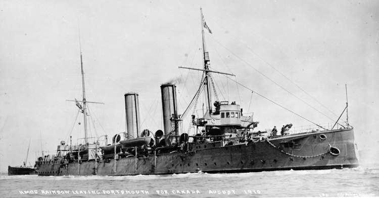 HMCS Rainbow (1891) The Apollo Class The Ship