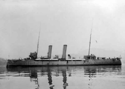 HMCS Rainbow (1891) HMCS RAINBOW ReadyAyeReadycom The Canadian Navy