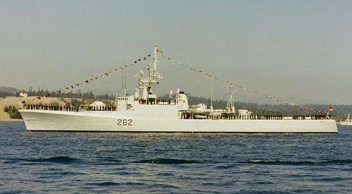 HMCS Saskatchewan (DDE 262) wwwreadyayereadycomshipscadillacsaskatchjpg