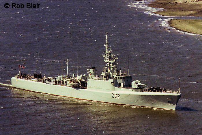 HMCS Saskatchewan (DDE 262) MACKENZIE Class