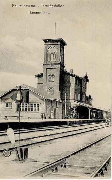 Hämeenlinna railway station