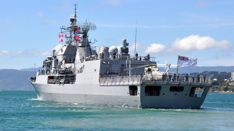 HMNZS Te Kaha (F77) HMNZS TE KAHA F77 ShipSpottingcom Ship Photos and Ship Tracker
