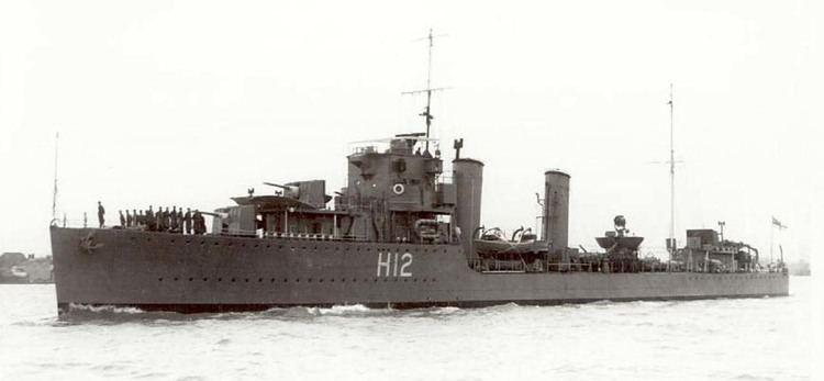 HMS Achates (H12) hmscavalierorgukbook1324HMSACHATES11929194