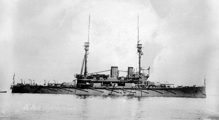 Image result for HMS Agamemnon (1906)