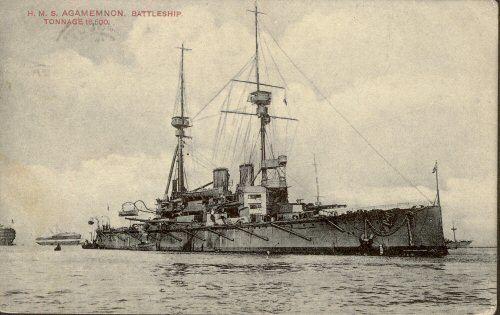 HMS Agamemnon (1906) HMS Agamemnon 19061927