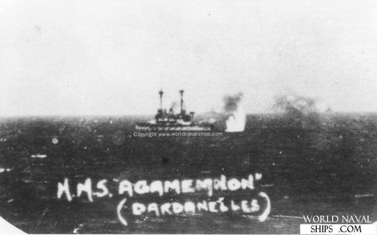 HMS Agamemnon (1906) HMS Agamemnon World Naval Ships Directory