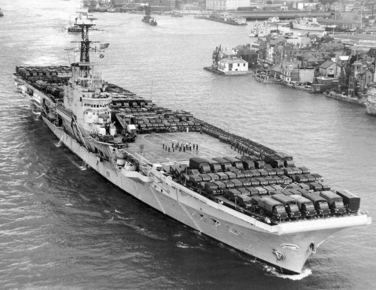 HMS Albion (R07) MaritimeQuest HMS Albion R07 Page 1