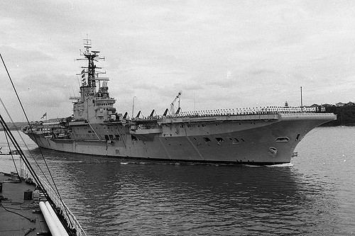 HMS Albion (R07) HMS ALBION R07 the old aircraft carrier gallery No1 a gallery