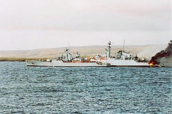 HMS Ardent (F184) of HMS Ardent F184