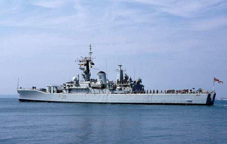 HMS Arethusa (F38) HMS Arethusa F38 ShipSpottingcom Ship Photos and Ship Tracker