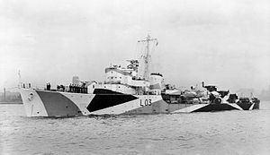 HMS Badsworth (L03) HMS Badsworth L03 Wikipedia