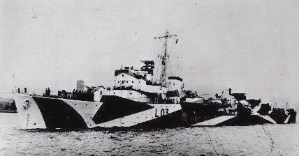 HMS Badsworth (L03) HMS Badsworth