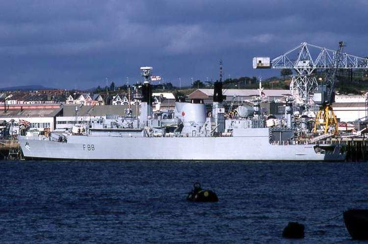 HMS Broadsword (F88) HMS Broadsword F88 ShipSpottingcom Ship Photos and Ship Tracker